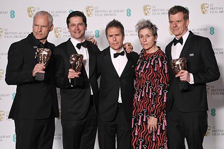 71st British Academy Film Awards, Press Room, London