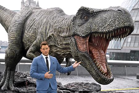 'Jurassic World: Fallen Kingdom' film photocall, London