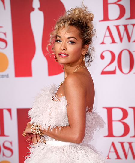 Brit Awards, Arrivals, The O2 Arena, London