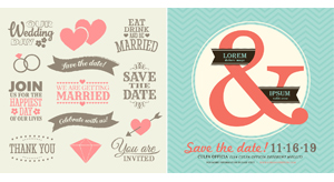 Save the Date: Wedding Invitation Templates