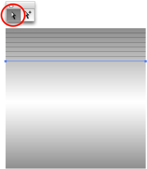 Brushed metal texture line values