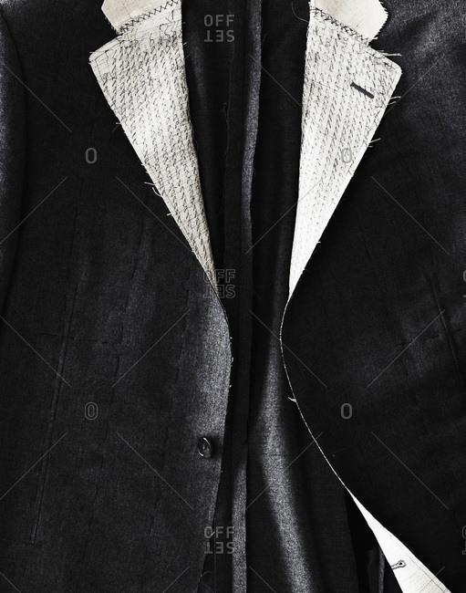 An elegant handmade man's suit