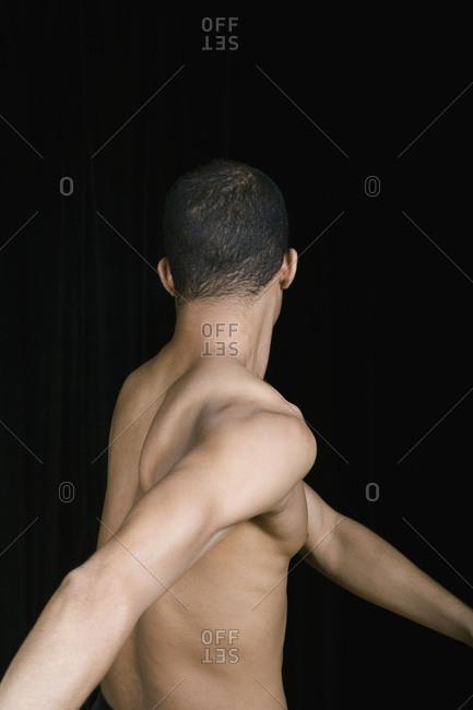 A male dancer