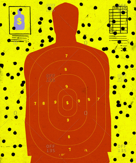 Target for shooting practice