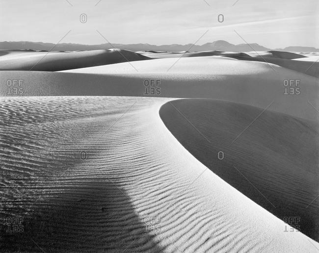 USA, New Mexico, Sand Dune