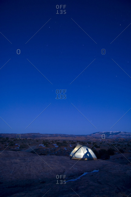 Camping in Moab - Offset Collection