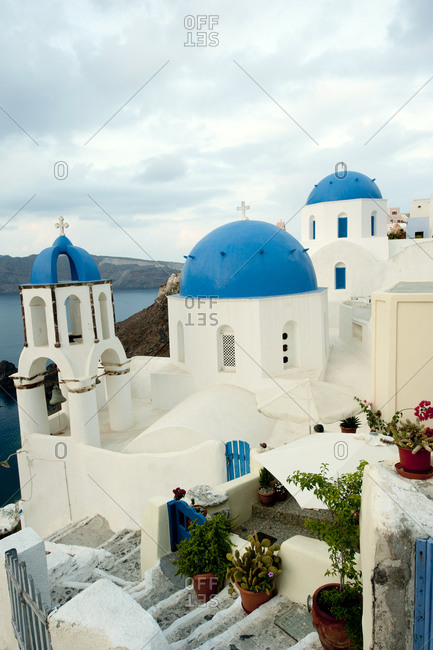 Orthodox Greek church in village