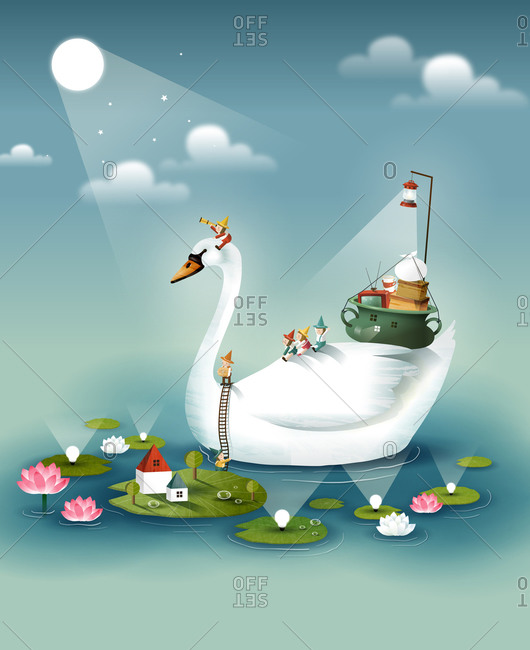 Travelling On Swan