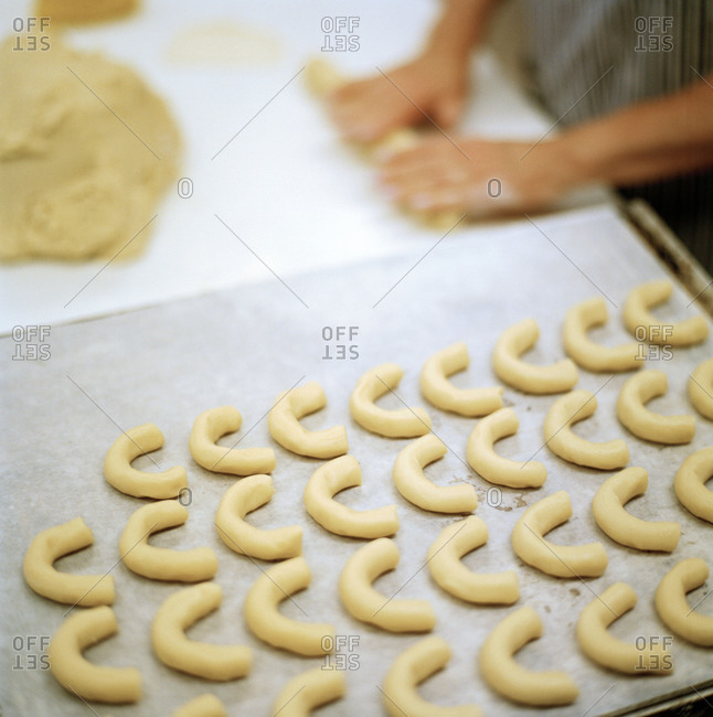 Baking cookies from the Offset Collection