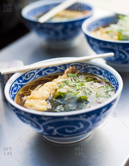 Bowls of noodles, Sweden - Offset