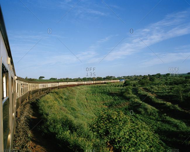 Train on plain
