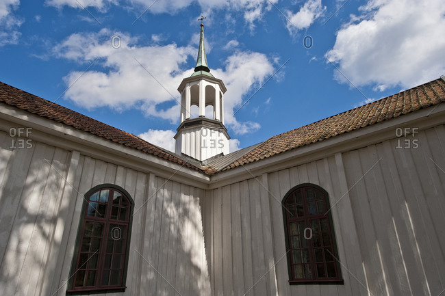 Low angle View of church architecture