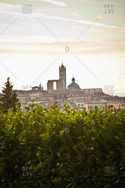 View of Tuscany skyline