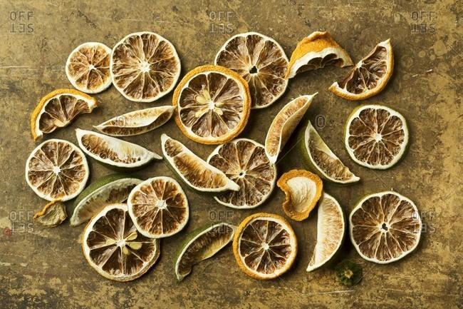 Assorted Dried Citrus Fruit - Offset