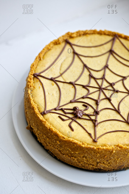 Halloween buttercup Cheese Cake