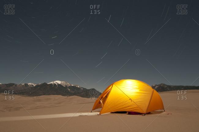 Great Sand Dunes National Park Colorado.