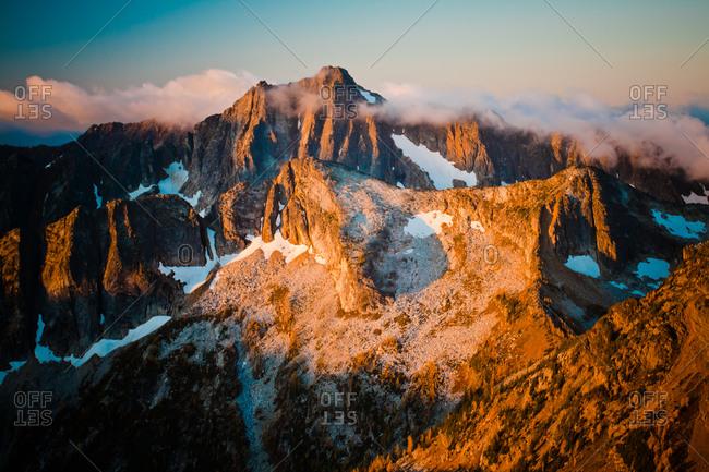 Hiking Frosty Peak.