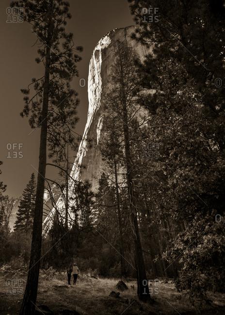 Yosemite in Sepia.