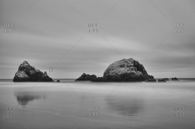 Two islands off the coast of San Francisco