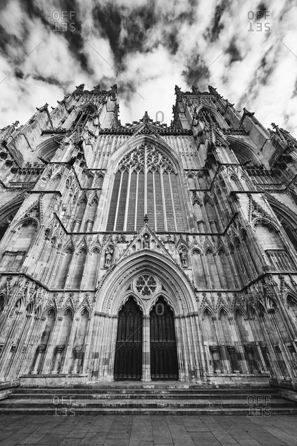 York Minster Cathedral in York, England