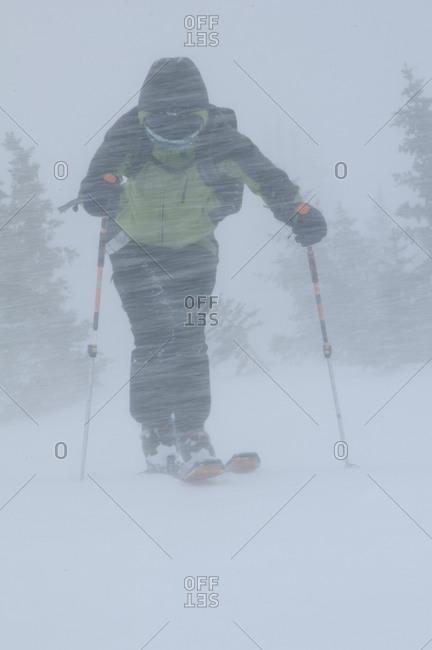 Skiing Silverton Mountain.