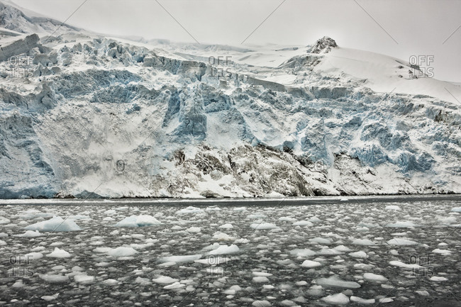Tons of ice were dumped into ocean from glacier in Antarctica