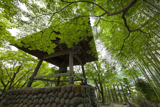 Bell House at Shuzenji Temple in Shizuoka, Japan