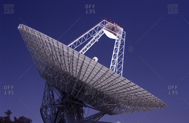 Satellite Receiving Dish
