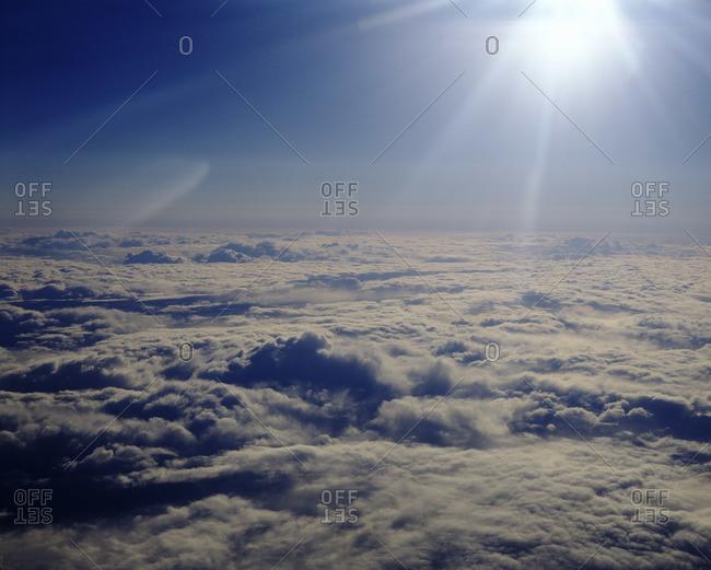 Sunburst, Clouds
