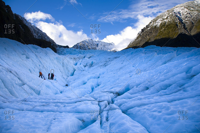 Fox Glacier, Westland National Park, Westland, South Island, New Zealand