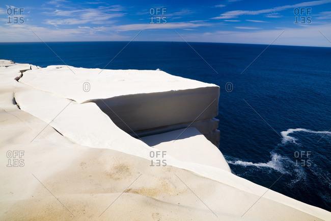 Sandstone Cliffs, Coastal Track, Royal National Park, New South Wales, Australia