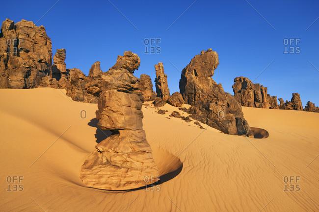 Tahaggart, Tassili du Hoggar, Sahara Desert, Algeria
