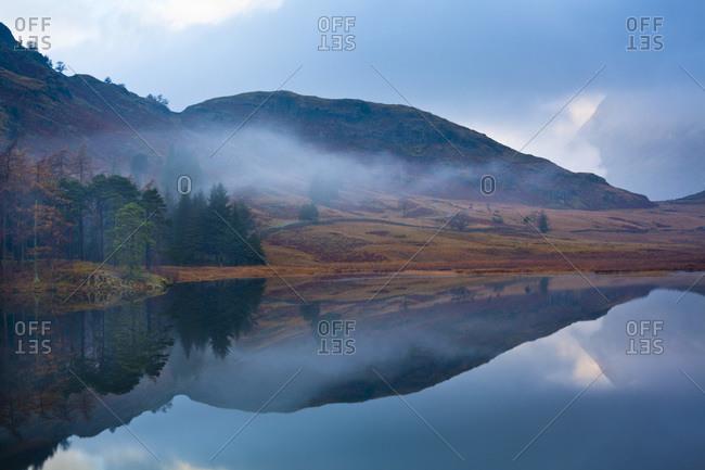 Blea Tarn at Dawn, Lake District, Cumbria, England