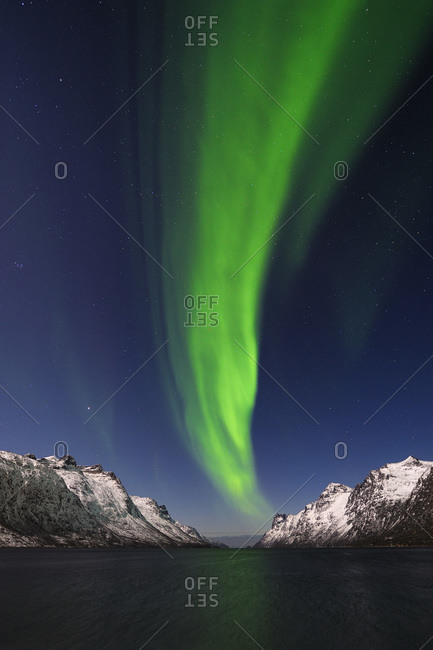 Northern Lights near Tromso, Troms, Norway