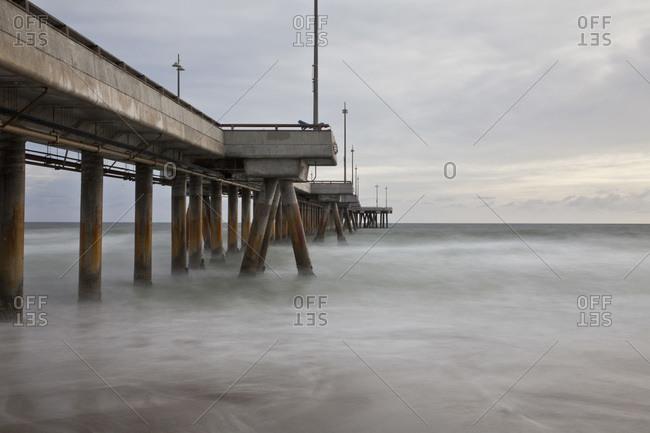 Pier, Venice Beach, Los Angeles, California, USA