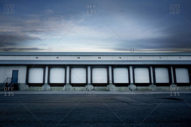 Empty Loading Dock, Mississauga, Ontario, Canada