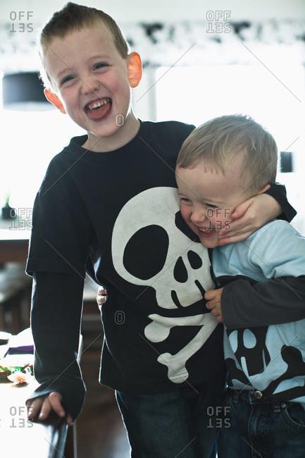Children messing around