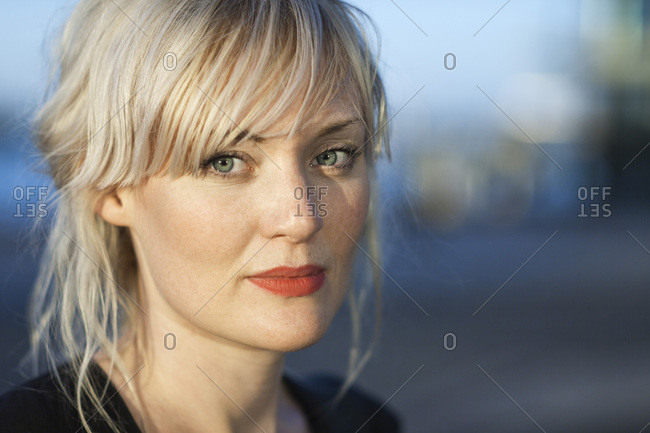 Portrait of confident mid adult woman outdoors