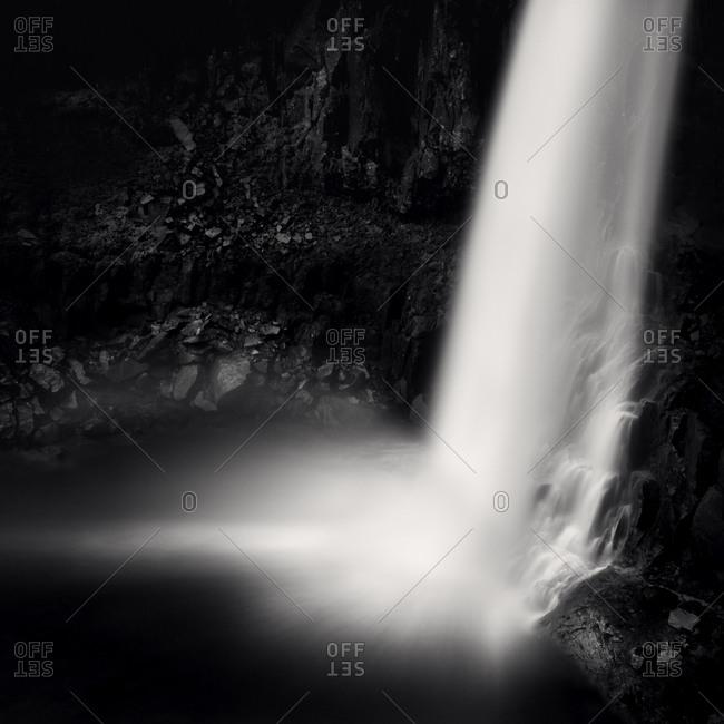 Berufjoedur waterfall in Iceland