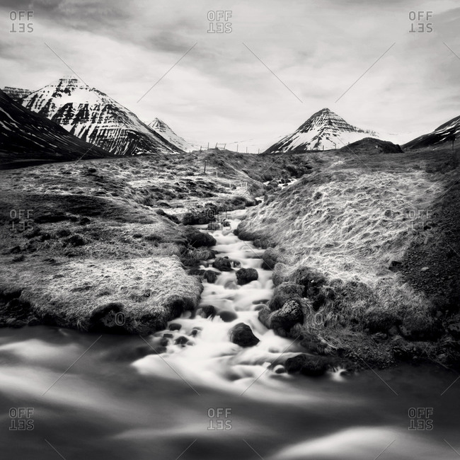 Troellaskagi mountains in northern Iceland
