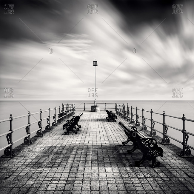 Seaside Pier in Swanage, Dorset