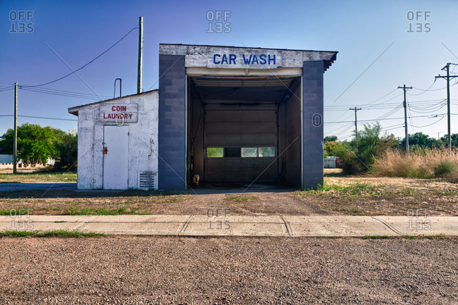Car wash and laundromat business in a prairie town.