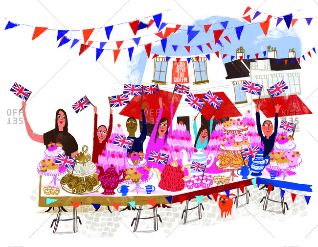 Celebrate the Queen's Diamond Jubilee with a Traditional British Street Party
