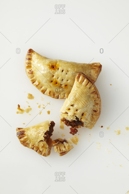 Empanadas filling with meat