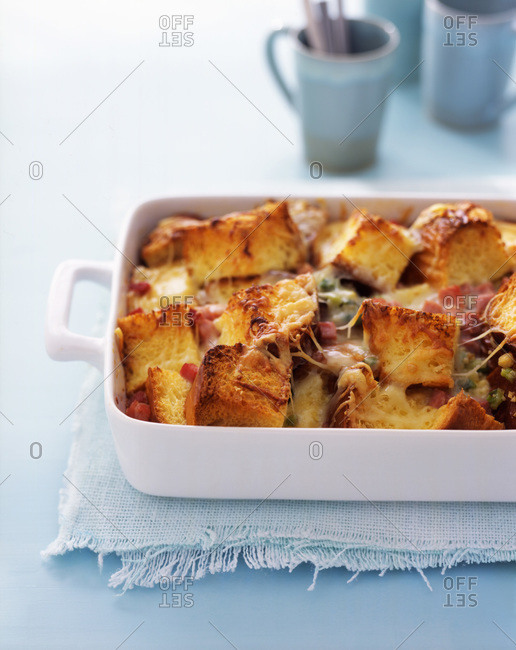 Sausage and vegetable casserole