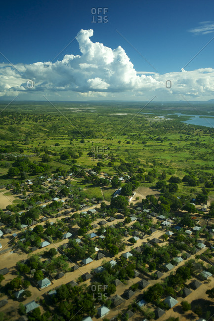 The outskirts of Pemba, Mozambique