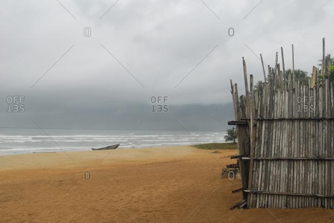 The Atlantic coast in Ghana