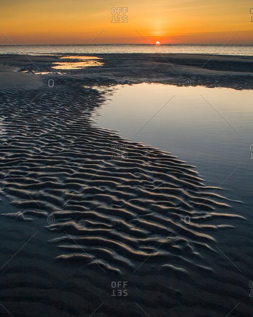 Hunting Island Sunrise, Hunting Island State Park, South Carolina, USA