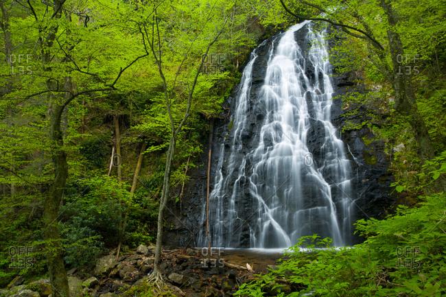 Crabtree Falls, Blue Ridge Parkway, North Carolina