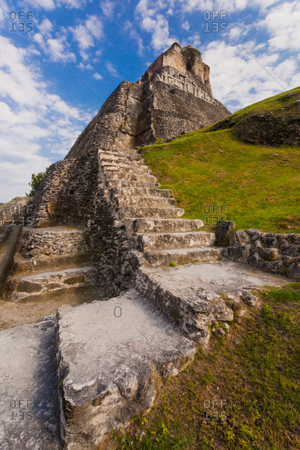 Xunantunich Mayan Ruins, Cayo District, Belize